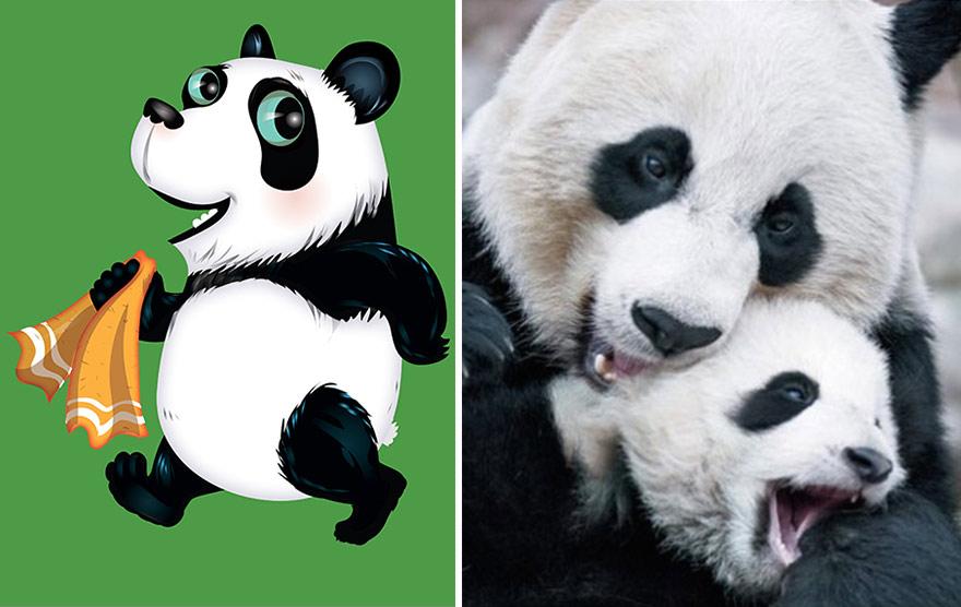 divertidas ilustraciones animales 19