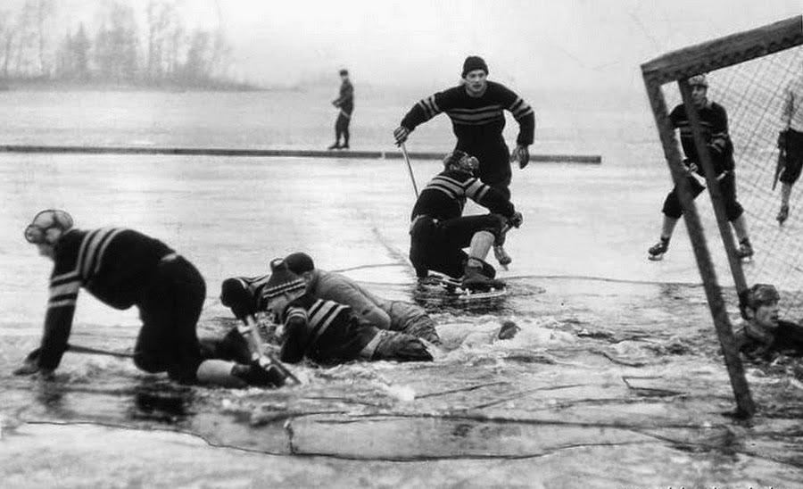 el autentico hockey hielo