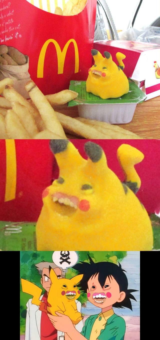 el pikachu mas feo de la historia