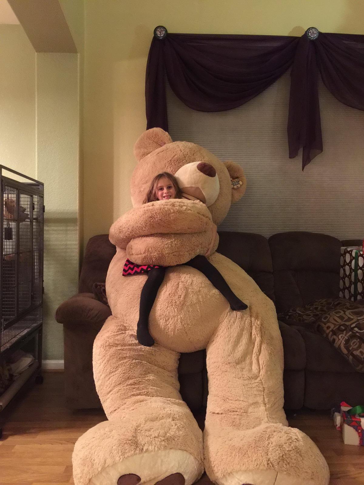 enorme oso de peluche