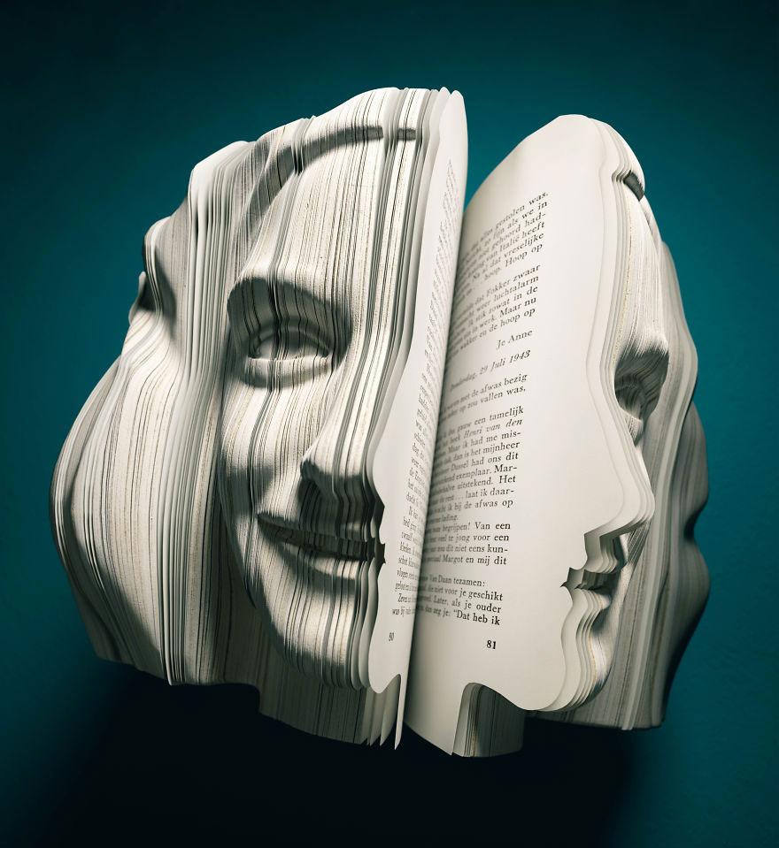 esculturas libros 13