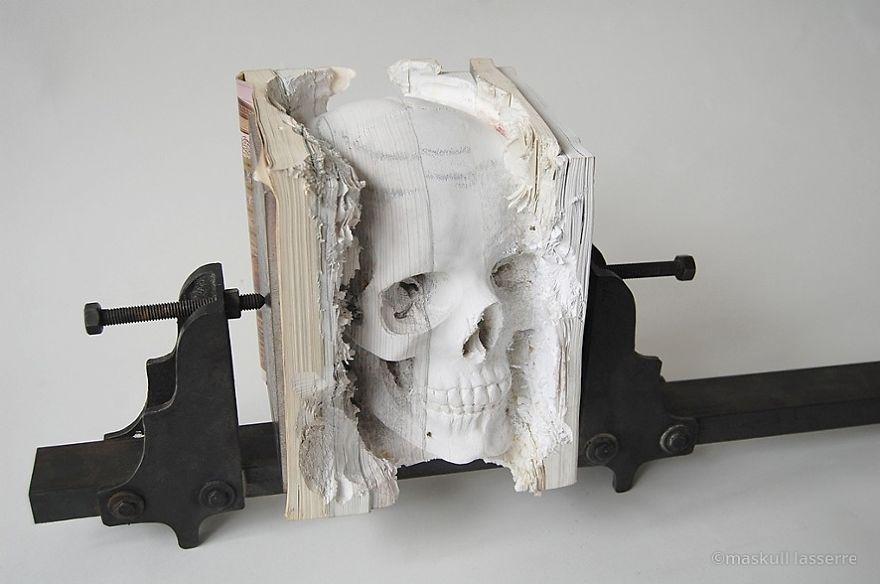esculturas libros 3