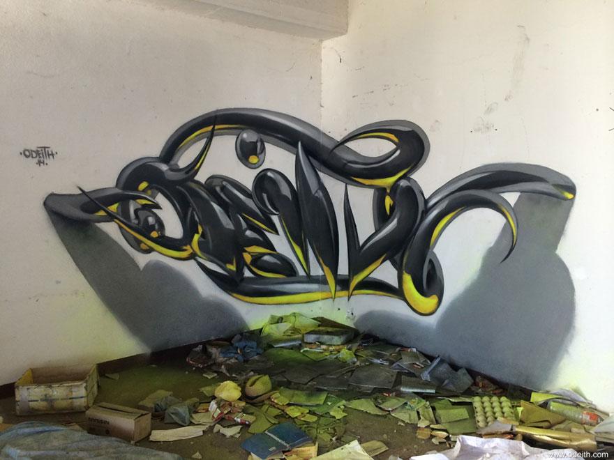graffitis en 3D 11