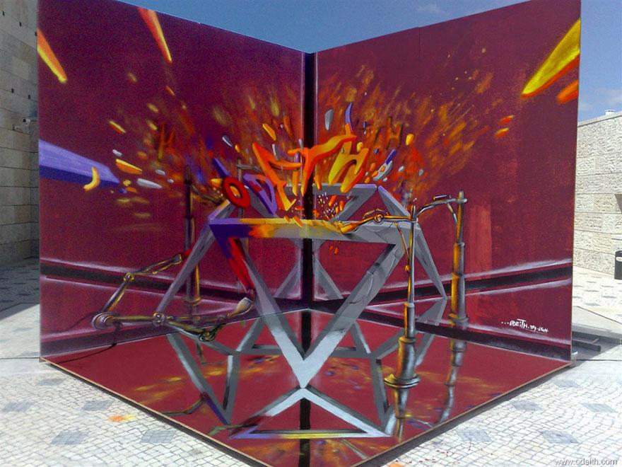 graffitis en 3D 12