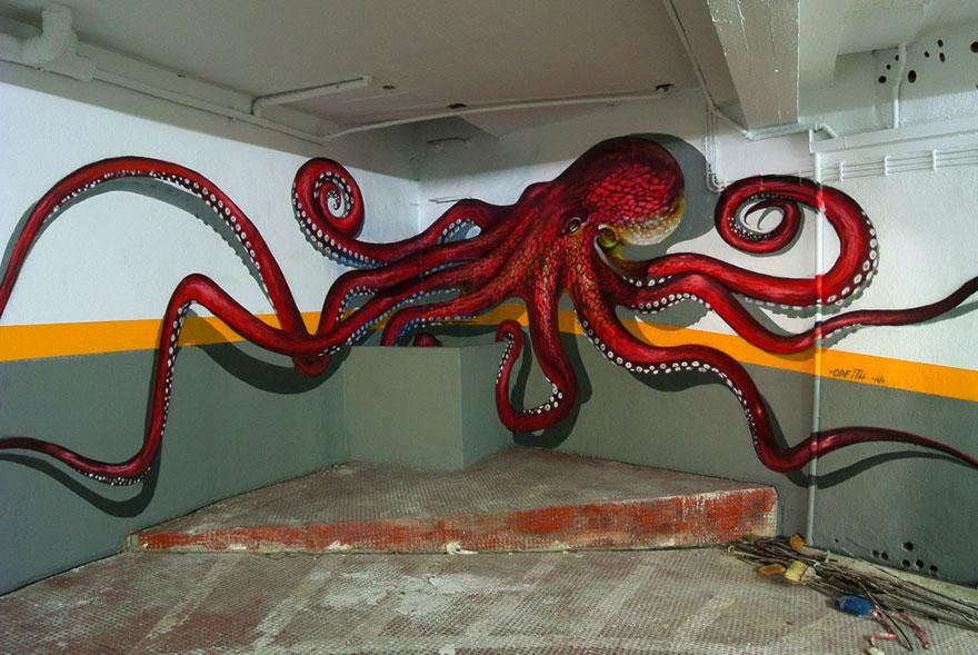 graffitis en 3D 3
