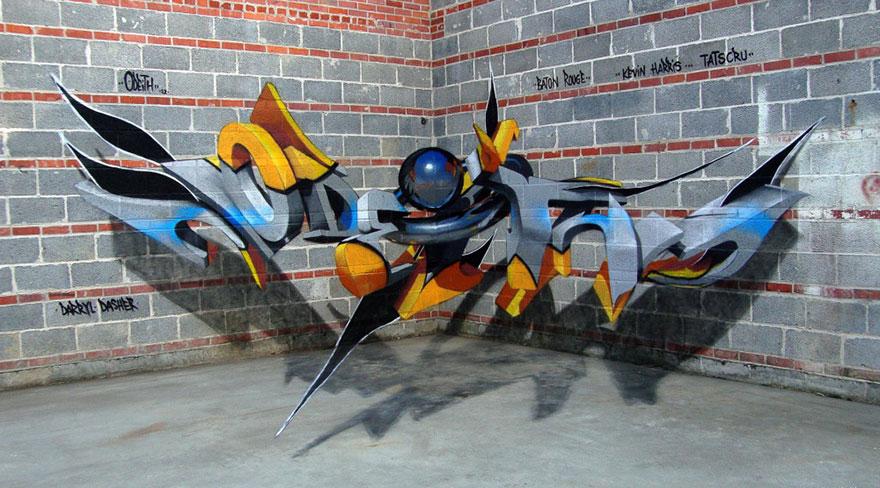 graffitis en 3D 9
