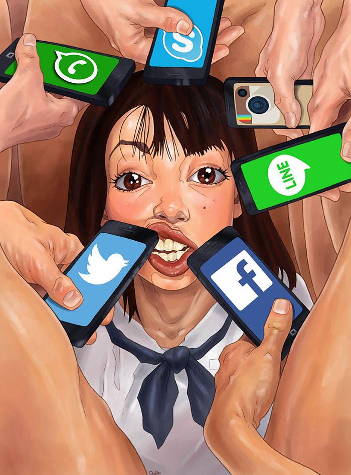 imagenes que reflejan lo peor de la sociedad 2
