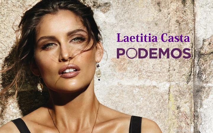 Laetitia Casta Podemos