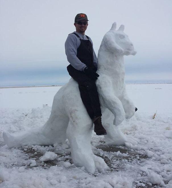 artistas de la nieve 10
