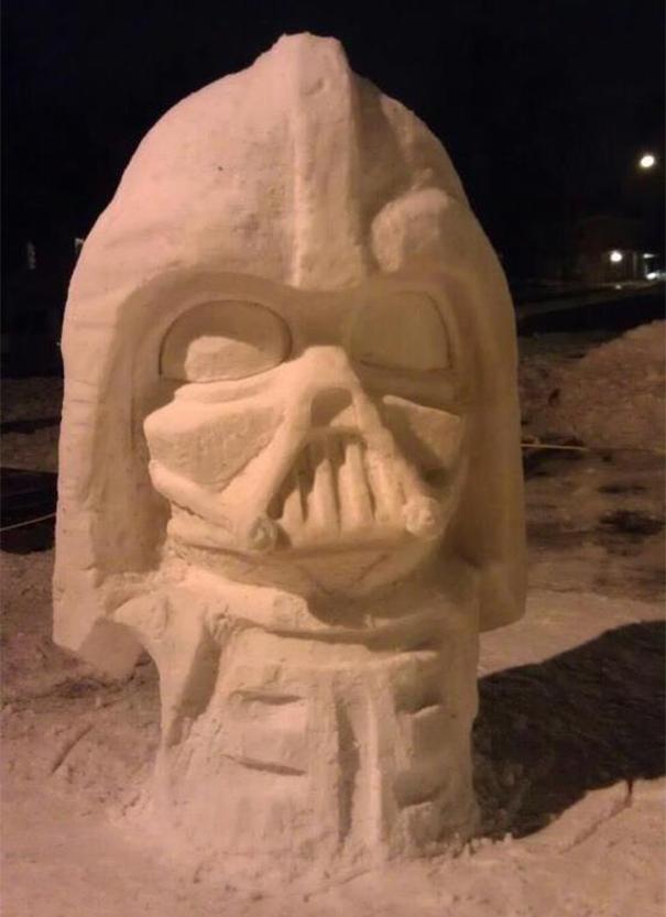 artistas de la nieve 15