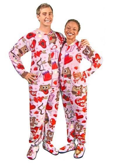 horrendo pijama para San Valentin