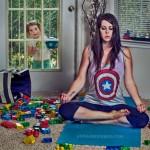 Divertidas fotos de una madre en apuros