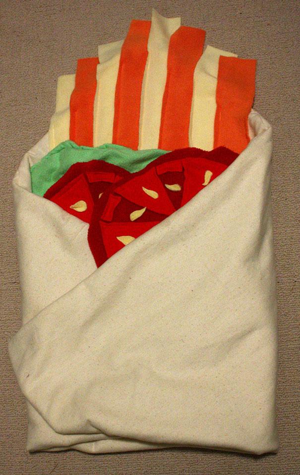 manta que parece un burrito 4