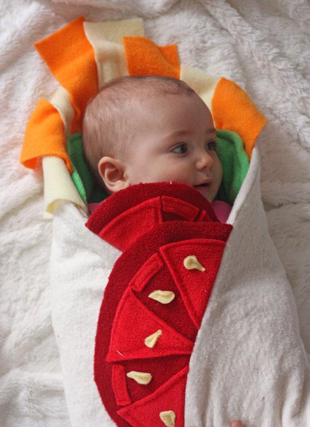 manta que parece un burrito