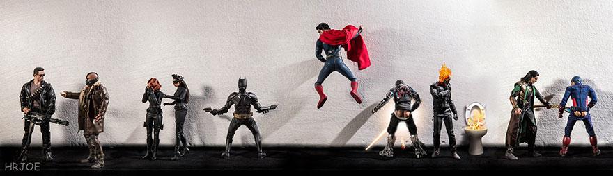 superheroes vida privada 2