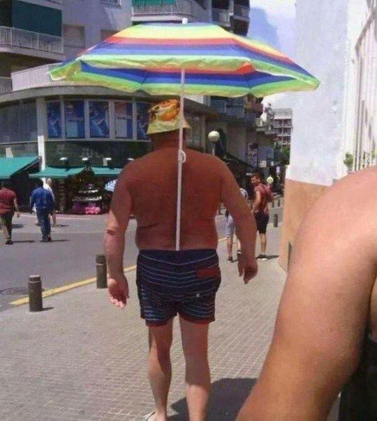 truco para olvidarse del sol