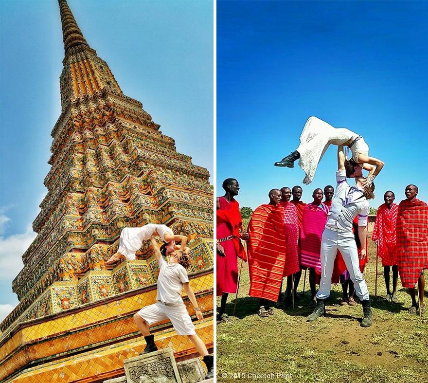 Tailandia y Kenia