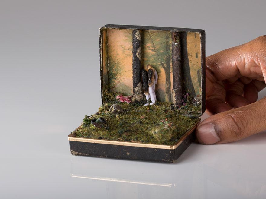 dioramas cajas anillos 10
