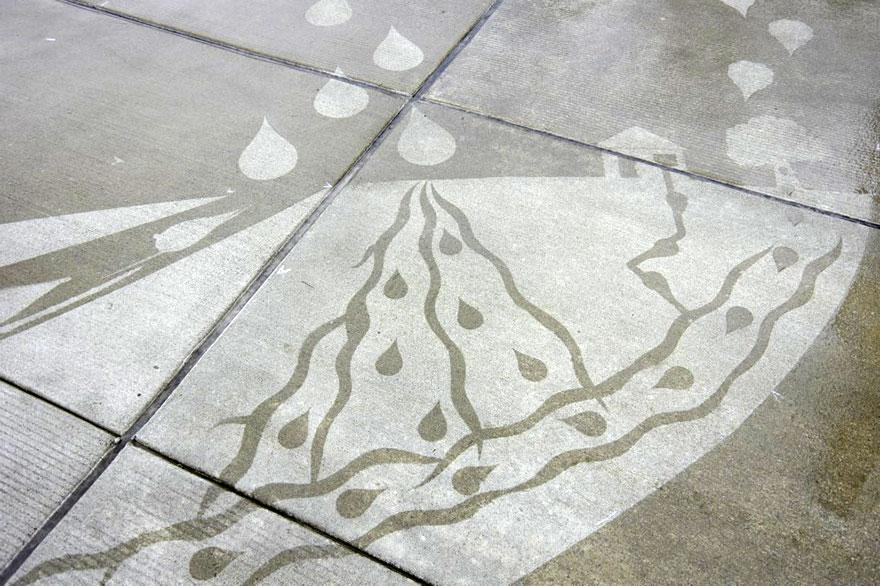 grafitis que se ven con agua 3