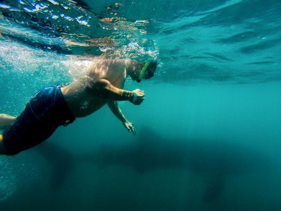 mal dia para hacer snorkel