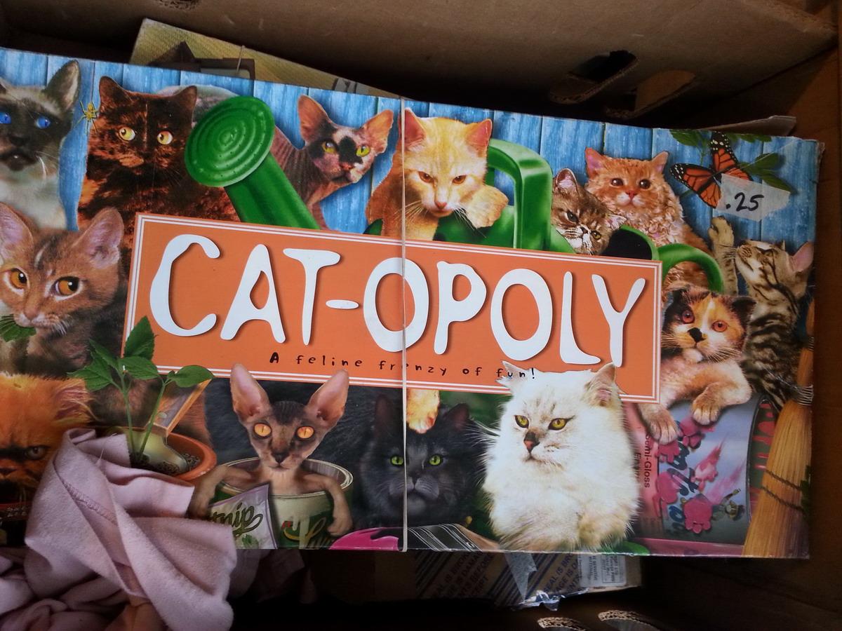 monopoly para gatos