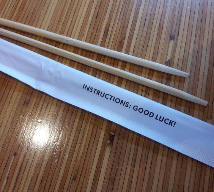 palillos chinos con instrucciones
