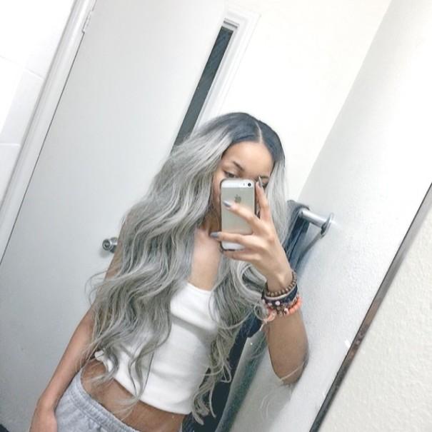pelo gris 13