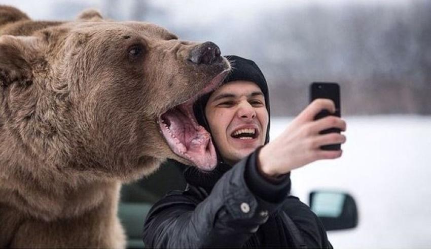selfie peligroso