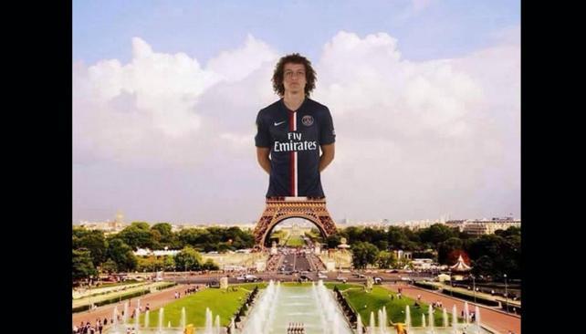 David Luiz meme
