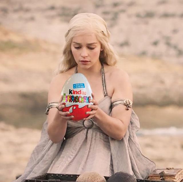Khaleesi huevo
