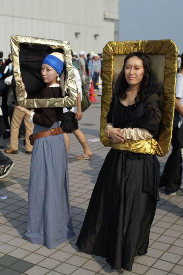 Disfrazarse de cuadro est de moda - Monalisa moda infantil ...