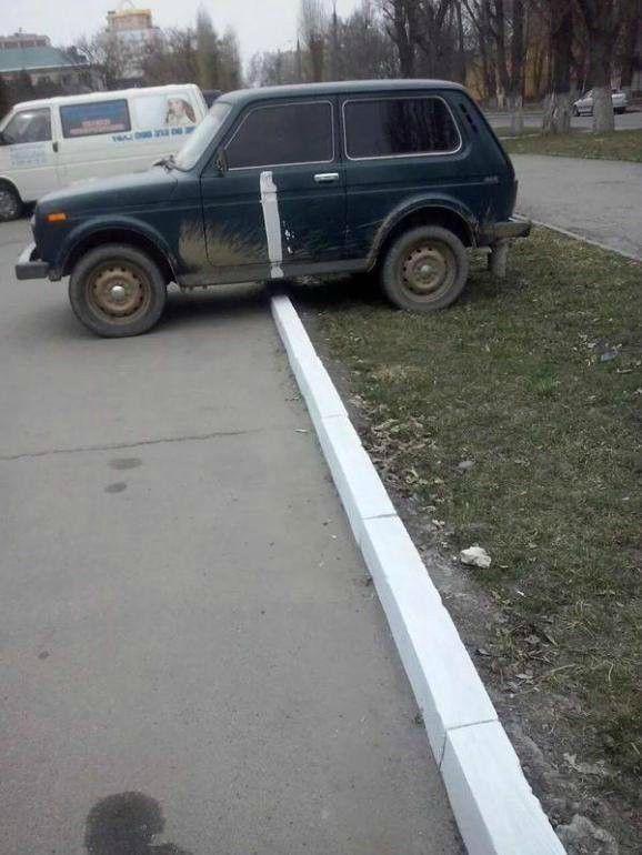 mal dia para aparcar tan mal