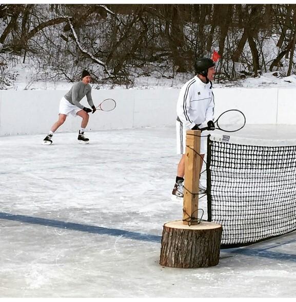 tenis sobre hielo