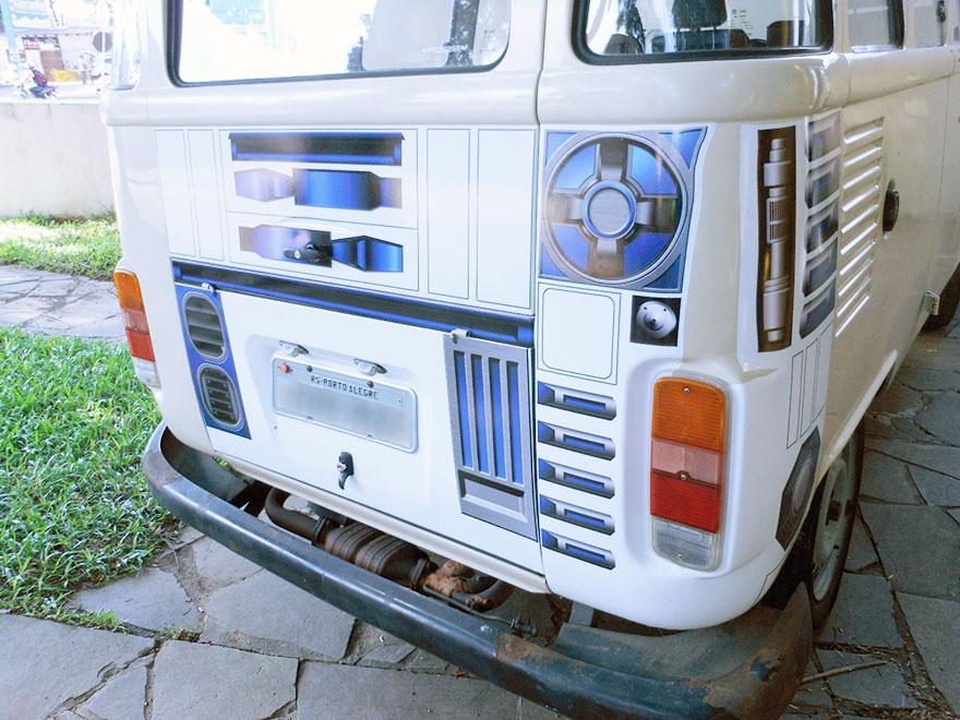 furgoneta R2-D2 7
