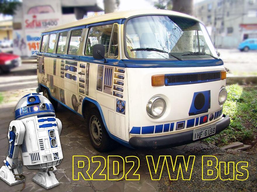 furgoneta R2-D2