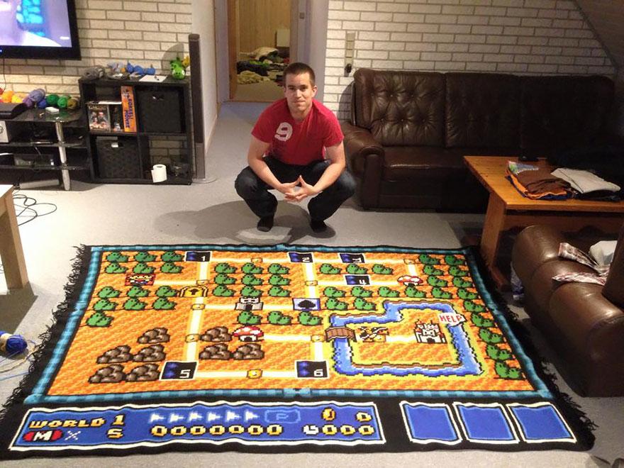 manta Super Mario 3