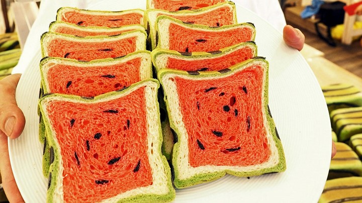 pan con forma de sandia 4