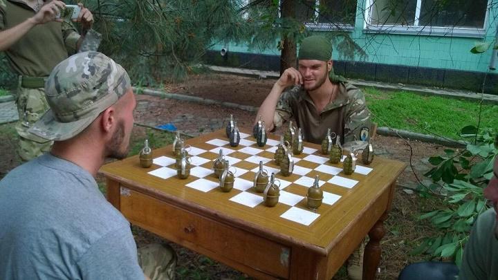 ajedrez en el ejercito