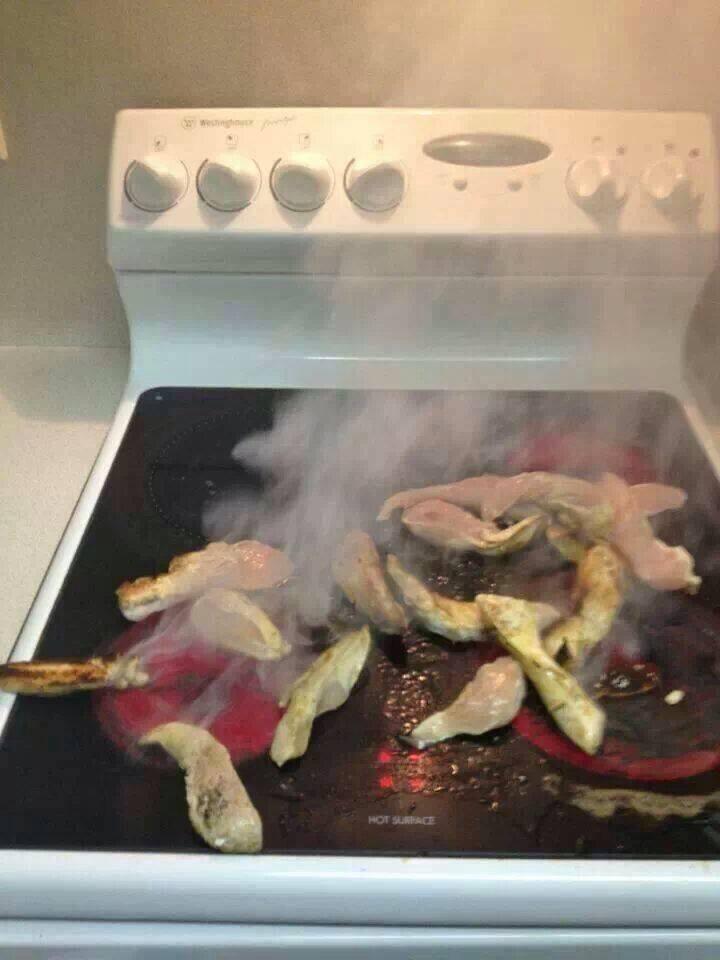 cocinando sin sarten