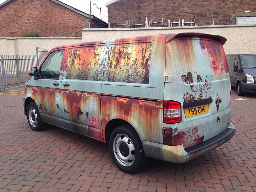 furgoneta camuflada contra los ladrones 12