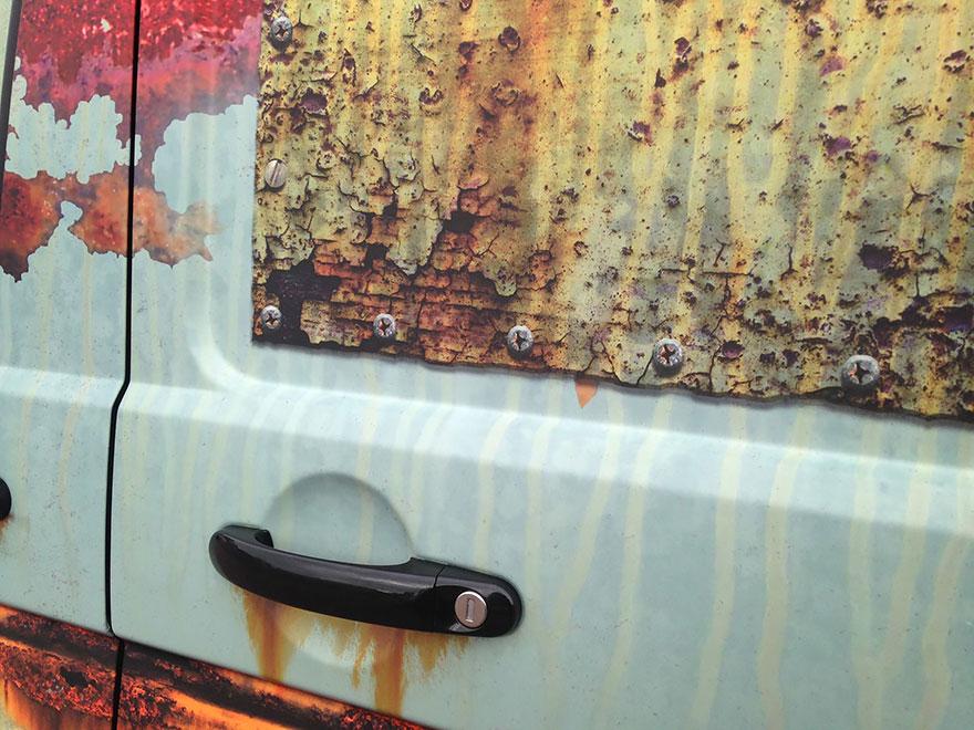furgoneta camuflada contra los ladrones 4
