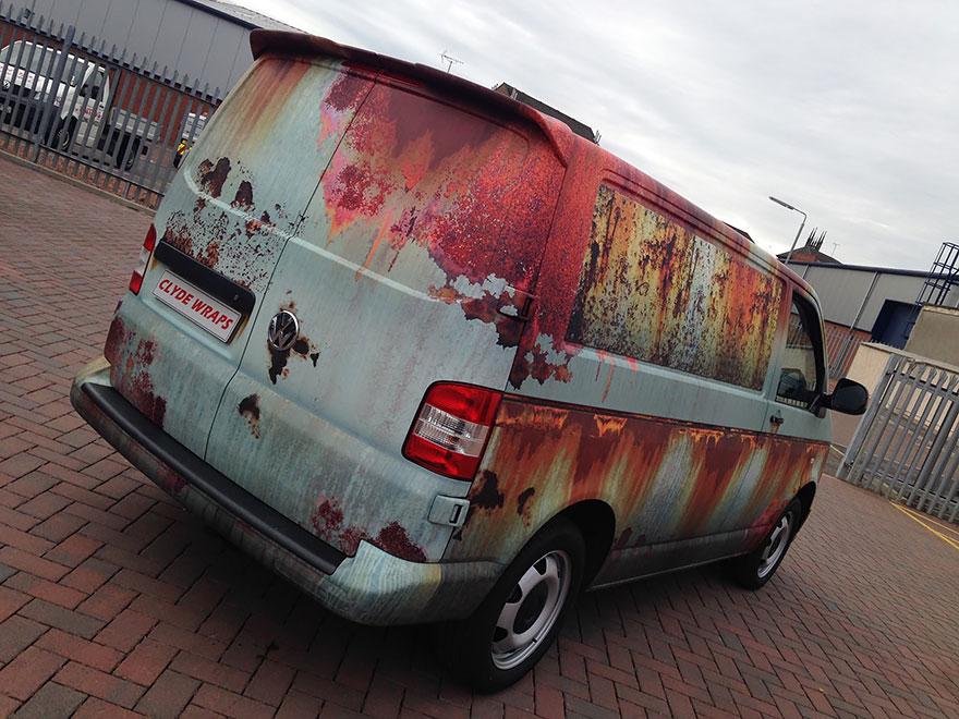 furgoneta camuflada contra los ladrones 5