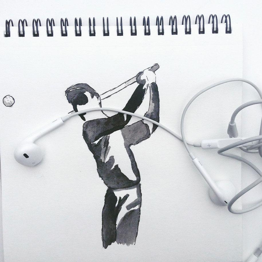ilustraciones objetos cotidianos 15