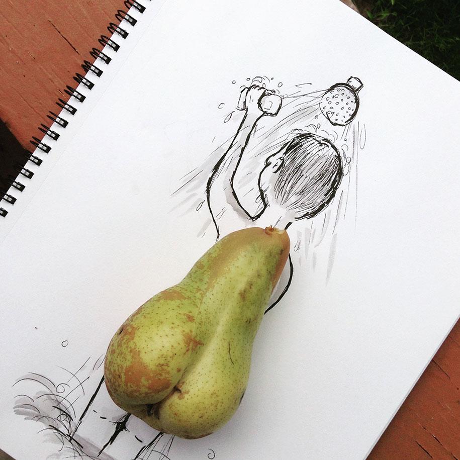 ilustraciones objetos cotidianos 2