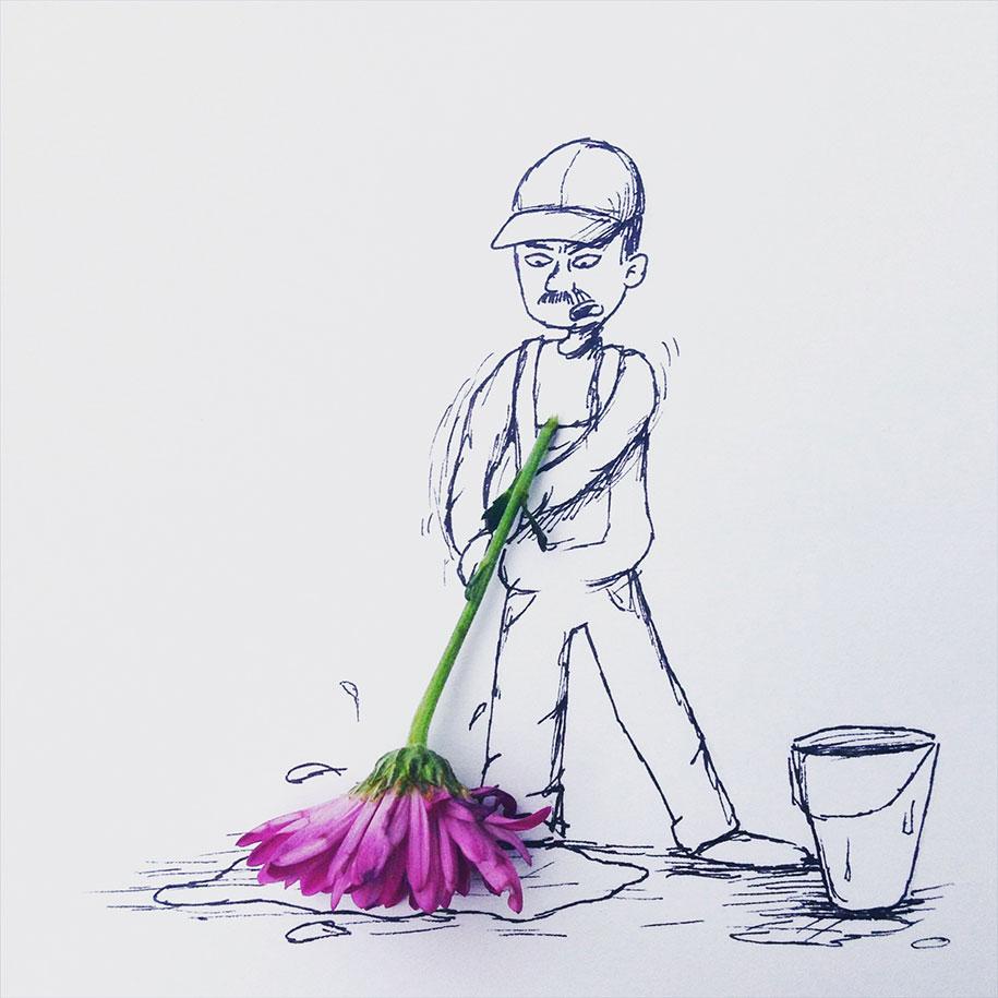 ilustraciones objetos cotidianos 4