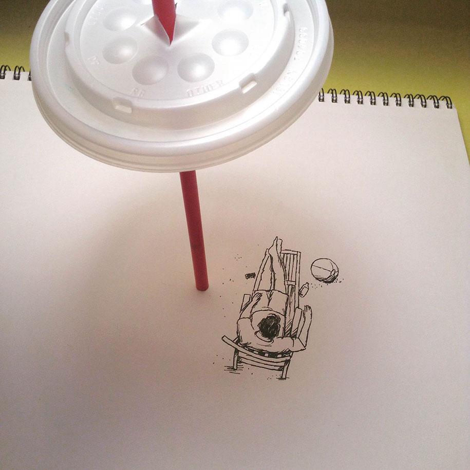 ilustraciones objetos cotidianos 6