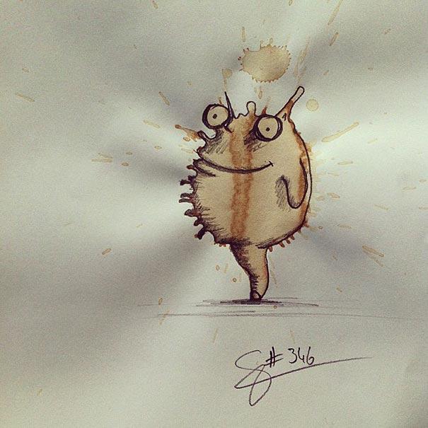 manchas de cafe monstruitos 10