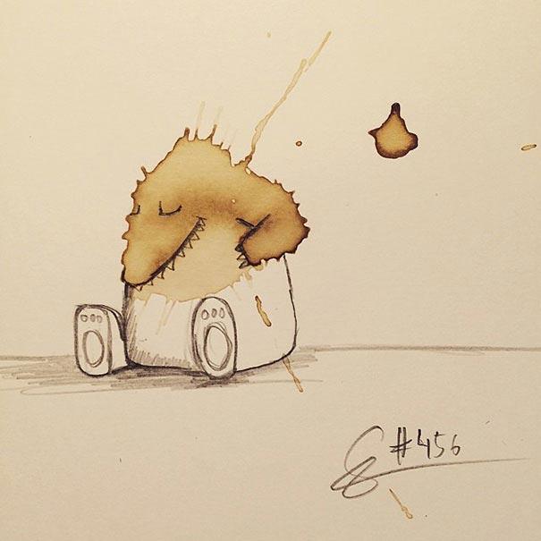 manchas de cafe monstruitos 11