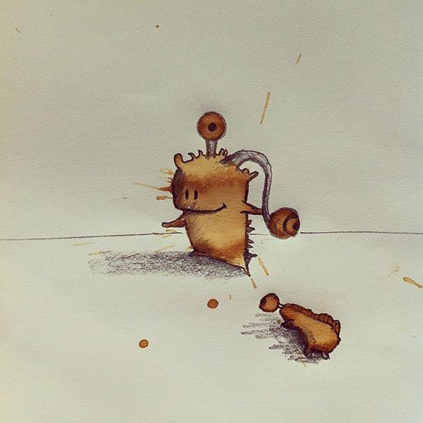 manchas de cafe monstruitos 14