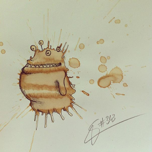 manchas de cafe monstruitos 16